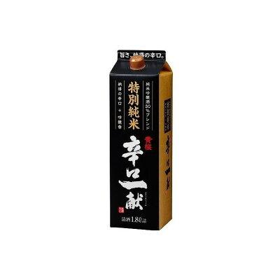 黄桜 特別純米 辛口一献 パック 1.8L