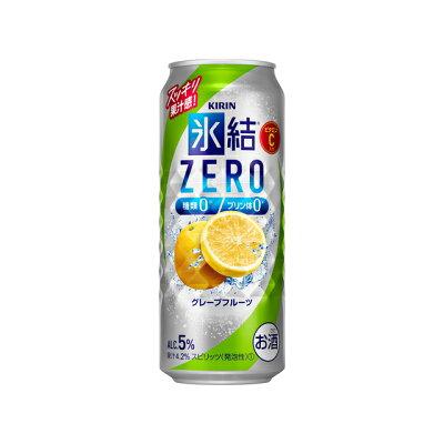 キリンビール 新氷結ZEROグレフル500ml缶