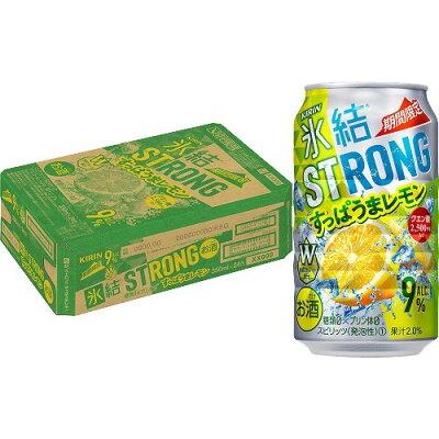 キリンビール キリン氷結ストロングすっぱうまレモン350ML缶
