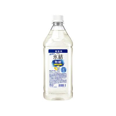 キリンビール キリン氷結無糖レモンコンク1800mlペット