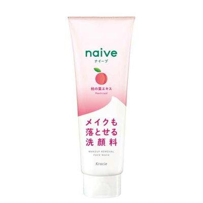 ナイーブ メイク落とし洗顔フォーム 桃の葉エキス配合(200g)