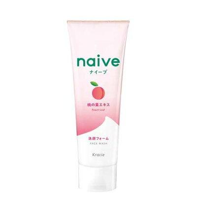 ナイーブ 洗顔フォーム 桃の葉エキス配合(130g)
