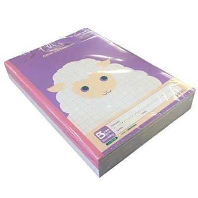 キョクトウ 学習帳 カレッジアニマル 5mm方眼 B5 LT01PU ひつじ