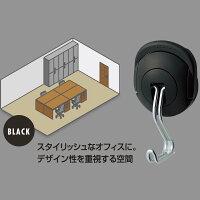 コクヨ 超強力マグネットフック タフピタ フク-227D 黒(1コ入)