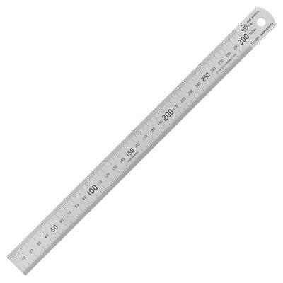 FW75073 ステンレス直定規C型JIS1級30cm TZ-1343
