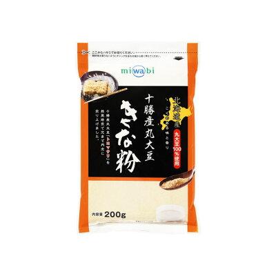 玉三 北海道十勝産 丸大豆きな粉 200g