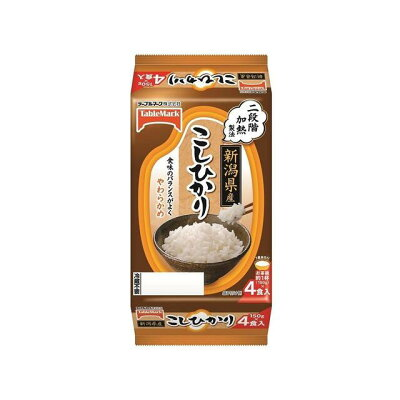 新潟県産こしひかり 分割(150g*4食入)