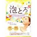 お湯物語 贅沢泡とろ 入浴料 プルメリアガーデンの香り(30g)