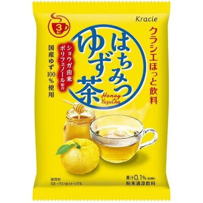クラシエほっと飲料 はちみつゆず茶(3袋入)