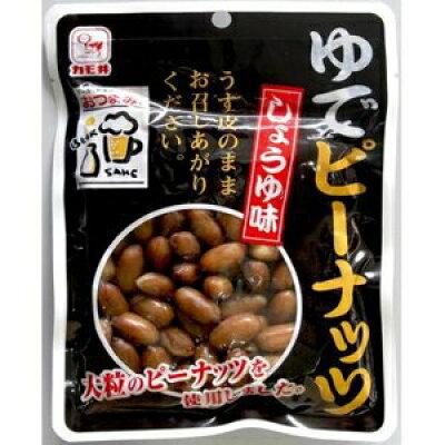 カモ井 ゆでピーナッツしょうゆ味 100g