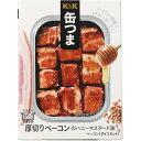 K&K 缶つま 厚切りベーコンのハニーマスタード味(65g)