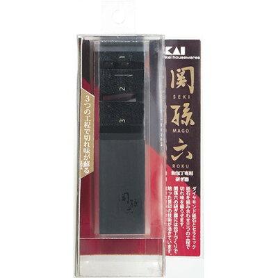 関孫六 ダイヤモンド&セラミック シャープナー 片刃用 AP0162(1コ入)