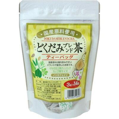 寿老園 国産 どくだみブレンド茶(3g*14袋入)