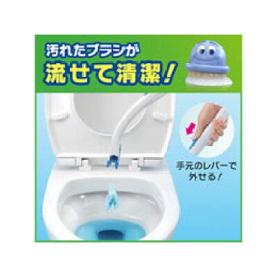 スクラビングバブル 流せるトイレブラシ 除菌消臭プラス ホワイトブロッサム 付替(12個入)