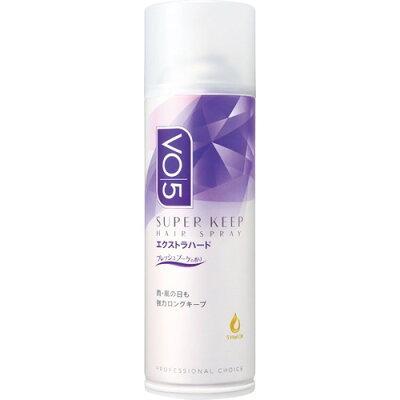 VO5 スーパーキープヘアスプレイ エクストラハード 微香性(330g)