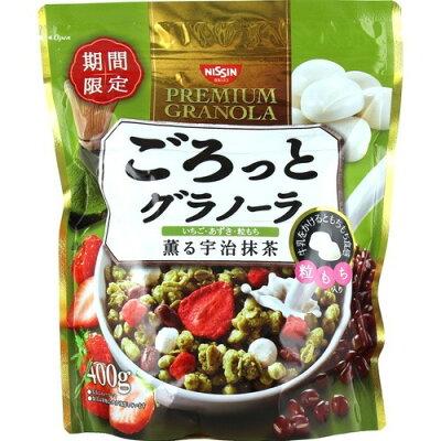 日清シスコ ごろっとグラノーラ 薫る宇治抹茶(400g)