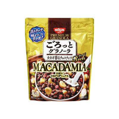日清シスコ ごろっとグラノーラリッチ カカオ香るチョコナッツ 300g