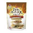 日清シスコ 一日分のスーパー大麦グラノーラ 3種のまるごと大豆 200g