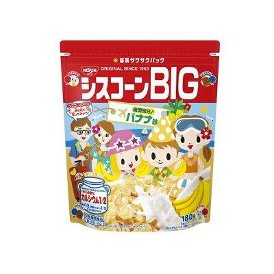 日清シスコ シスコーンBIG バナナ味 180g
