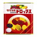 サクマ式缶ドロップス(115g)