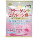 ノンシュガー コラーゲン+ヒアルロン酸キャンディ ピーチミルク味 60g