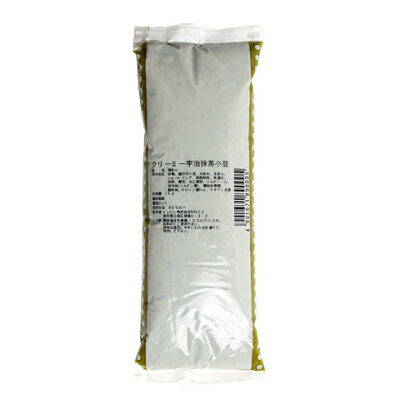 ソントン食品工業 クリーミー宇治抹茶小豆 1Kg