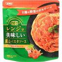 SSK レンジで薫るパスタソース 8種の野菜のポモドーロ 120g