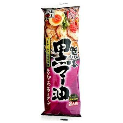 五木食品 熊本黒マー油とんこつラーメン