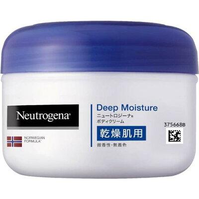 ニュートロジーナ ディープモイスチャー ボディクリーム 乾燥肌用 微香性(200mL)