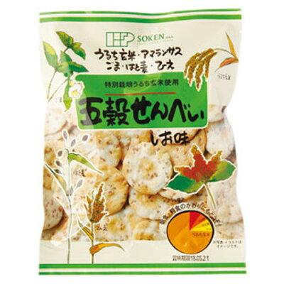 創健社 五穀せんべい しお味(90g)