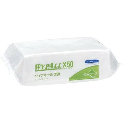 クレシア ワイプオールX50 ハンディワイパー(100枚入)