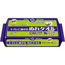 アクティ トイレに流せる ぬれタオル ウェット 大判・厚手(76枚)
