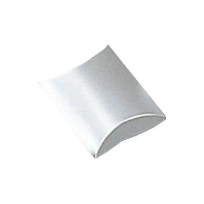 【HEIKO/シモジマ】箱 ギフトボックス(ピローボックス) AX-2 銀(10枚入)