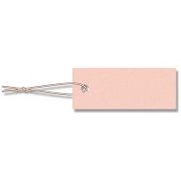 【HEIKO/シモジマ】提札(プライスタグ) 10x25mm No.597ピンク(100枚入り)