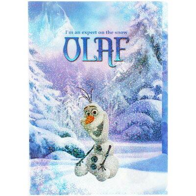 サンスター文具 アナと雪の女王 クリアファイル5p a4サイズ オラフ s2157535