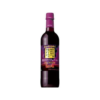 サントリー 無添加のおいしいワイン。贅沢コクの赤720