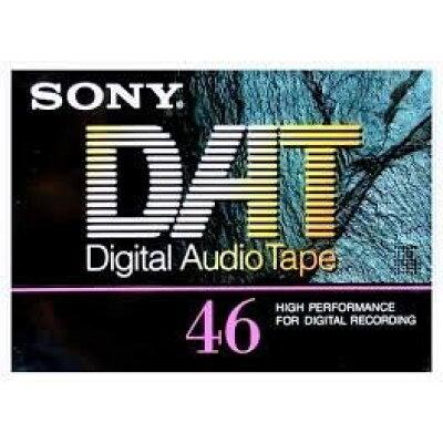 SONY DATカセット DT-46RA