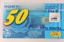 SONY オーディオカセットテープ C-50CDX2G