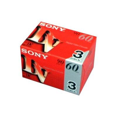 ソニー ミニDVカセット 3DVM60R3(3本入)