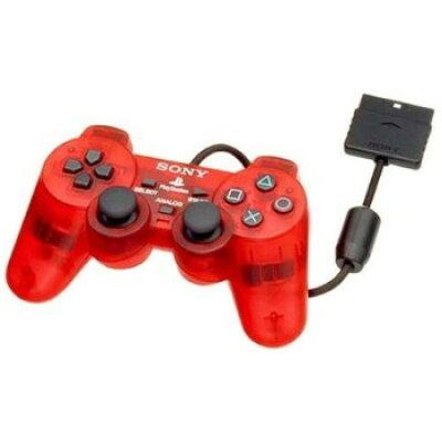PS2ハード アジア版 アナログコントローラ (DUAL SHOCK2) クリムゾンレッド