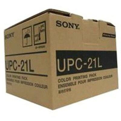 SONY カラープリントパック UPC-21L