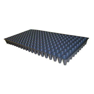 富川化学工業 プラグトレイ200穴 機械用 黒 300×590×45