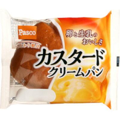 パスコ カスタードクリームパン 98g