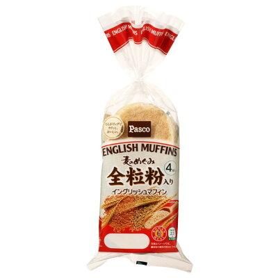 パスコ 麦のめぐみイングリッシュマフィン 4個