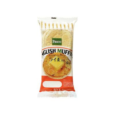 パスコ 超熟 イングリッシュマフィン ライ麦入 4個