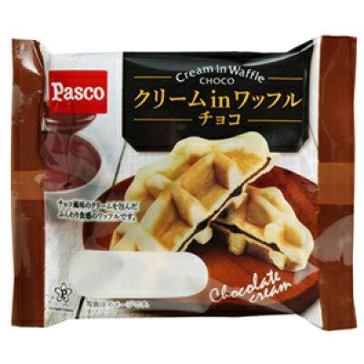 パスコ クリームinワッフル チョコ 1個