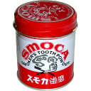 スモカ 歯磨 赤缶155g