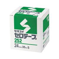 セキスイセロテープ(R) No.252 箱入り C10BX64 23256
