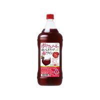 サッポロビール サッポロポリフェノールおいしさアップ赤1.8PT