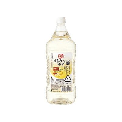 サッポロビール サッポロ果実のめぐみはちみつゆず酒1.8L